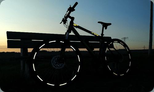 Herbst Fahrrad